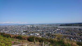 大井川を中心にした眺望。いつ来ても感動