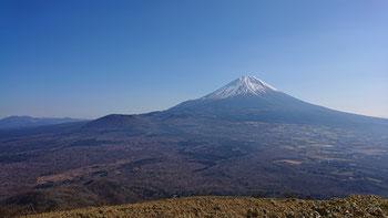 雄大な富士の樹海(山頂直下)