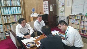平賀県議も同席してくれました(私の右)