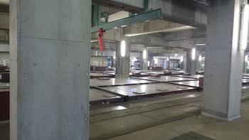 下水を発酵・分離するエアレーションタンク