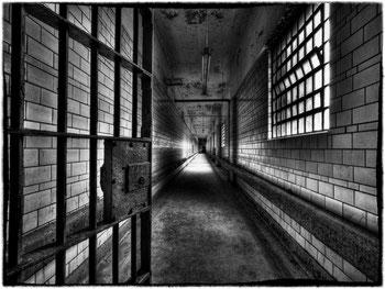 un'ala del penitenziario