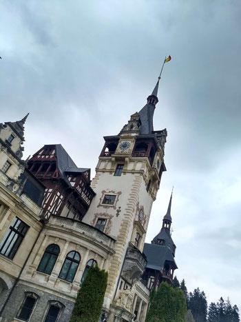 Peles castle, Transylvania, Romania