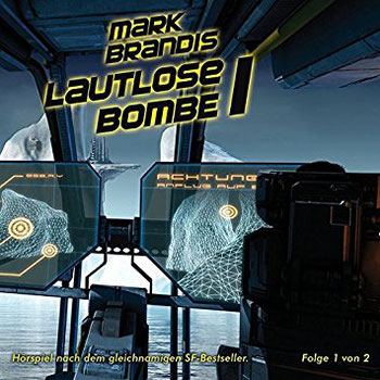CD-Cover Mark Brandis 21 – Lautlose Bombe 1