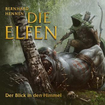 CD Cover Elfen Blick in den Himmel