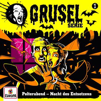 Cover Gruselserie: Polterabend - Nacht des Entsetzens