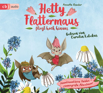 CD-Cover Hetty Flattermaus fliegt hoch hinaus