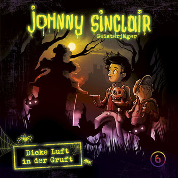 CD-Cover Johnny Sinclair Folge 6