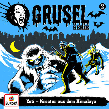 Cover Gruselserie: Yeti - Kreatur aus dem Himalaya