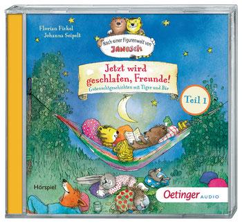 CD-Cover Janosch, jetzt wird geschlafen, Freunde!