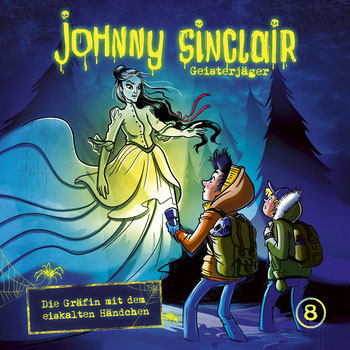 CD-Cover Johnny Sinclair Folge 8