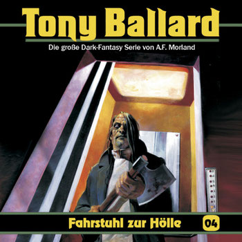 CD-Cover Tony Ballard - Fahrstuhl zur Hölle