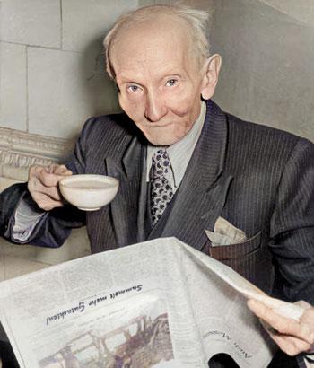 Reinhold Burger, Erfinder der Thermosflasche 1953