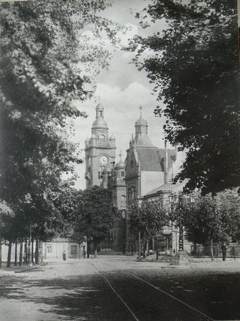 Ansichtskarten Pankower-Rathaus um 1904