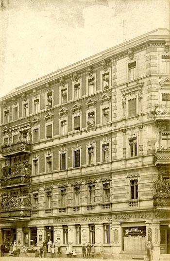 Friedensstr. 69 in Berlin, Wohnsitz von Reinhold Burger ab 1896
