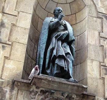 Памятники и скульптуры Барселоны - епископ Ирурита