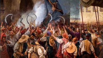 """Els Segadors (кат. """"Жнецы"""") - официальный гимн Каталонии"""