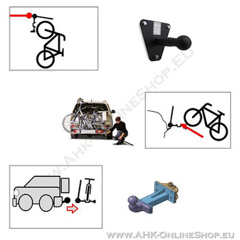 Transportplattform und AHK-Träger Zubehör