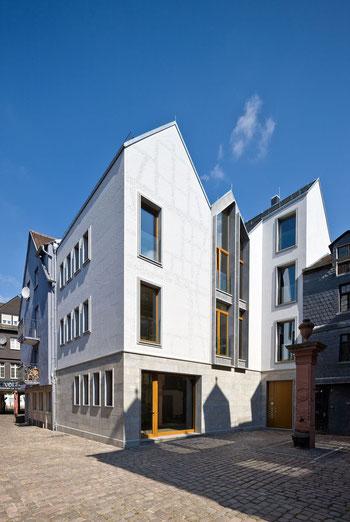 BVH Kleiner Ritter in Frankfurt, Lüftungsanlage, Mikro-Kraftwärme-Kopplung, moderne Architektur
