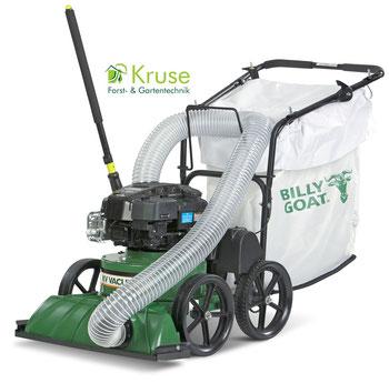 Billy Goat Laubsauger mit Saugschlauch und zuschaltbarem Fahrantrieb von Kruse Gartentechnik aus Petershagen.