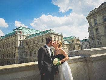 Hochzeitsfotograf Paar Foto Shooting Wien