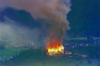 Jadbergbrand 1986