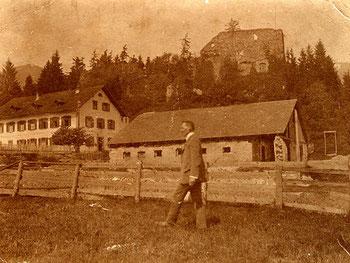 Wirtschaftsgebäude am Jagdberg