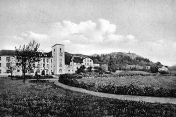 alte Ansicht des Landesjugendheimes Jagdberg