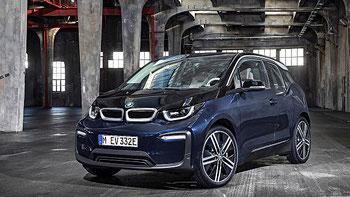 Der neue BMW i3 mit LED Scheinwerfern und aufgefrischtem Design