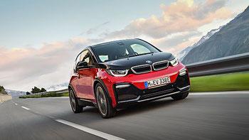 Das neue Sportmodell i3s von BMW