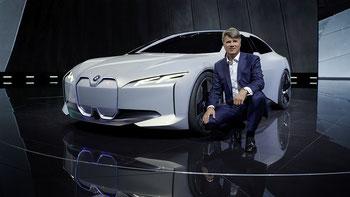 Die neue BMW Studie i Vision Dynamics, vorgestellt an der IAA 2017 in Frankfurt