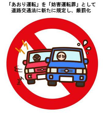 あおり運転厳罰化 2020年6月30日施行