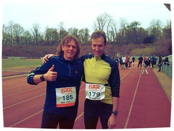 Auch Thomas, Vorsitzender vom SG BMF 07 Berlin, war dabei...