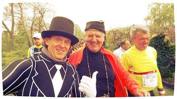 Der Organisator dieser Osterlaufveranstaltung war Frank-Ulrich, ein sehr sympatischer Kerl.