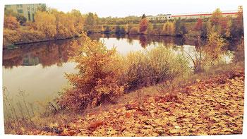 Der rund 40 Hektar große Freizeitpark Marienfelde wurde auf einer ehemaligen Mülldeponie errichtet.