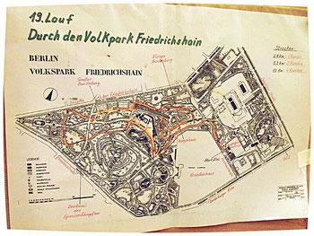 Der Volkspark Friedrichshain war im Jahre 1846 als erste kommunale Grünanlage Berlins.