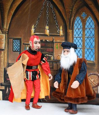 Marionettentheater Märchen an Fäden - Faust: Der Teufelspakt
