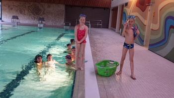Schwimmunterricht im Sternberghallenbad