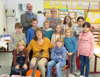 Kinderchor mit Frau Ruopp