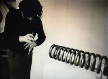 Guy Schraenen: Freiheit zum Klange, still, 1993 Guy Schraenen éditeur films artists' books Künstlerbücher livres d'artistes