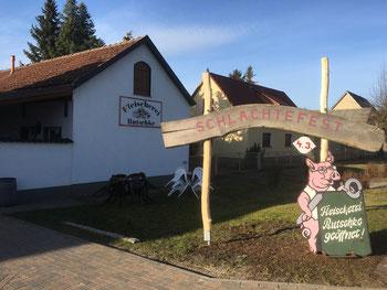 Fleischerei Butschke Wuschewier Schlachtefest  Märkisch Oderland (Oderbruch-blog.de)