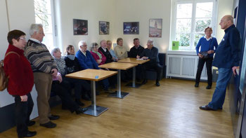 Berndt Wagner informiert die BVO Gruppe