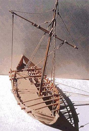 Maquette de restitution par J-M. Gassend