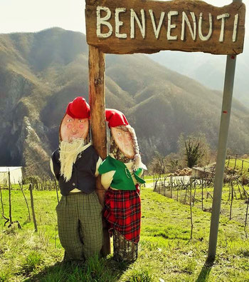 Lo Gnomo Vitturin - mascotte di Lisore di Cerignale (PC)