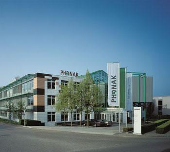 Sede de Phonak en Suiza