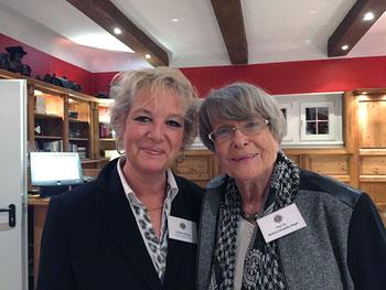 Christine Mögling mit Frau Prof. Dr. Schaeffer-Hegel