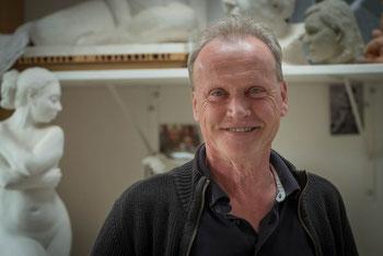 Hans-Peter Fischer, Atelier,