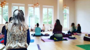 Yoga de la Voix, séance au Shala, Nava Yoga Nantes, 2020