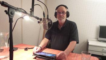 Produktion Audioguides mit Peter Kaempfe