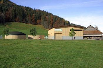 Biogasanlage Einsiedeln