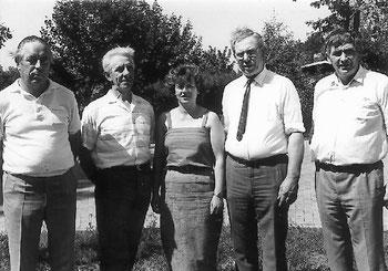 Bürgerverein Schwaneburgermoor Vorstand 1984 bis 1986 und Vorstand 1986 bis 1988
